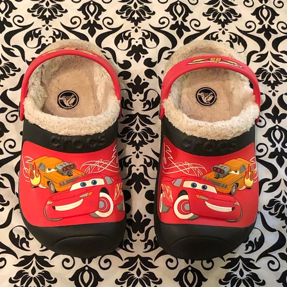 CROCS Shoes | Crocs Cars Disney Lined